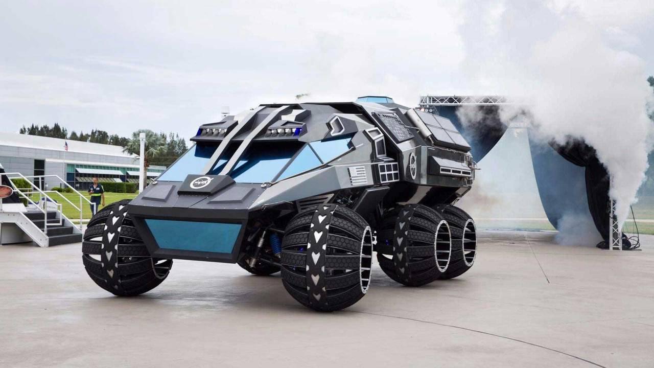 NASA/Parker Brothers Concepts Mars Rover