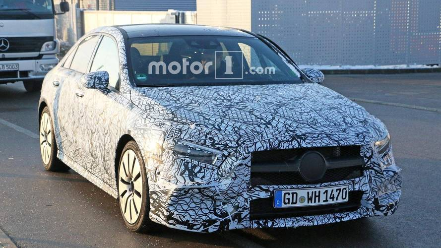 Mercedes-AMG A35 Sedan Spied Before Going On Sale In US