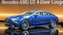 2019 Mercedes-AMG GT 4-Door Coupe: Geneva 2018