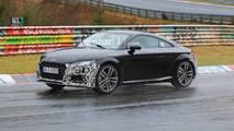 Audi TT Refresh Spy Photos