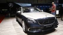 Mercedes-Maybach S-Class at the 2018 Geneva Motor Show