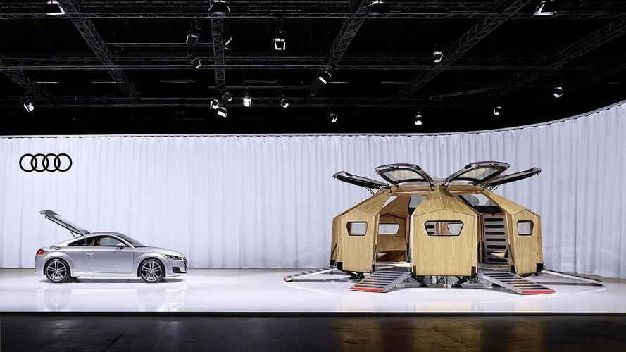 Audi unveils their TT Pavilion at Design/Miami Basel