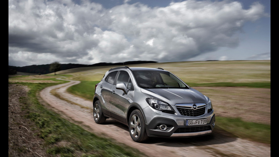 Opel Mokka, nuove immagini ufficiali