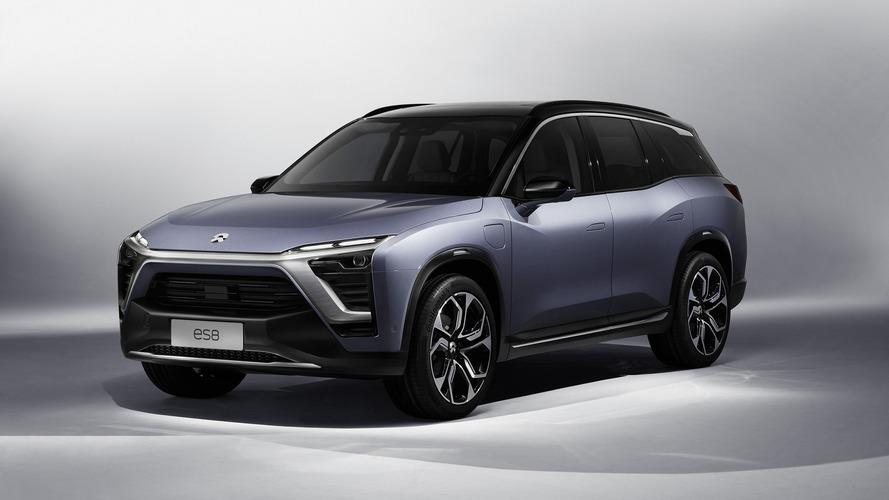 NIO ES8 Çin'de Tesla Model X ile savaşacak