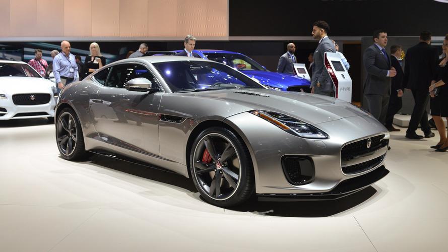 Jaguar F-Type'ın dört silindirli turbo motorunun resitali