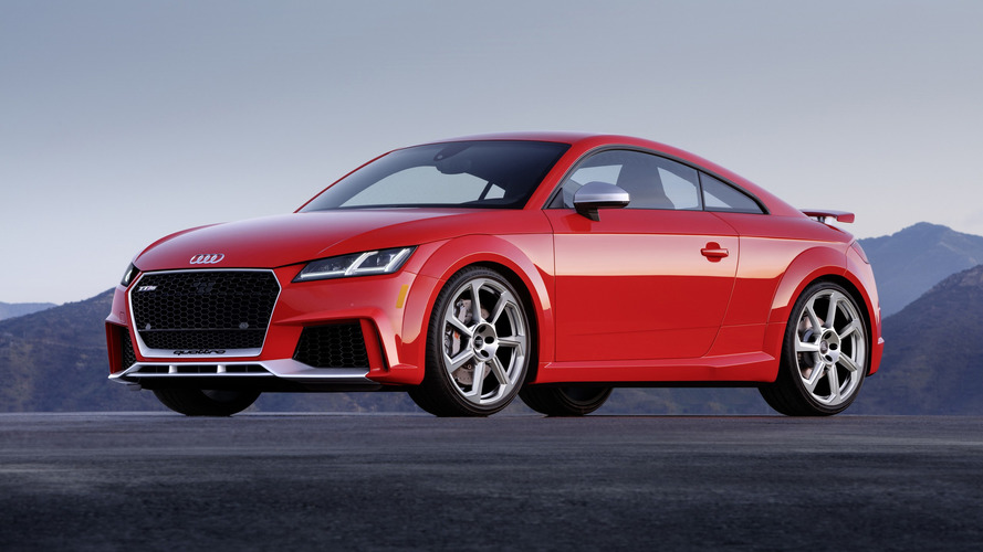 2018 Audi TT RS Finally Arrives In U.S. With $64,900 Price Tag