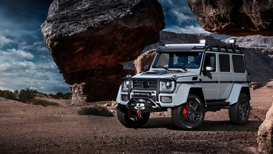 Brabus finds a way to make the Mercedes G500 4x4² more outlandish