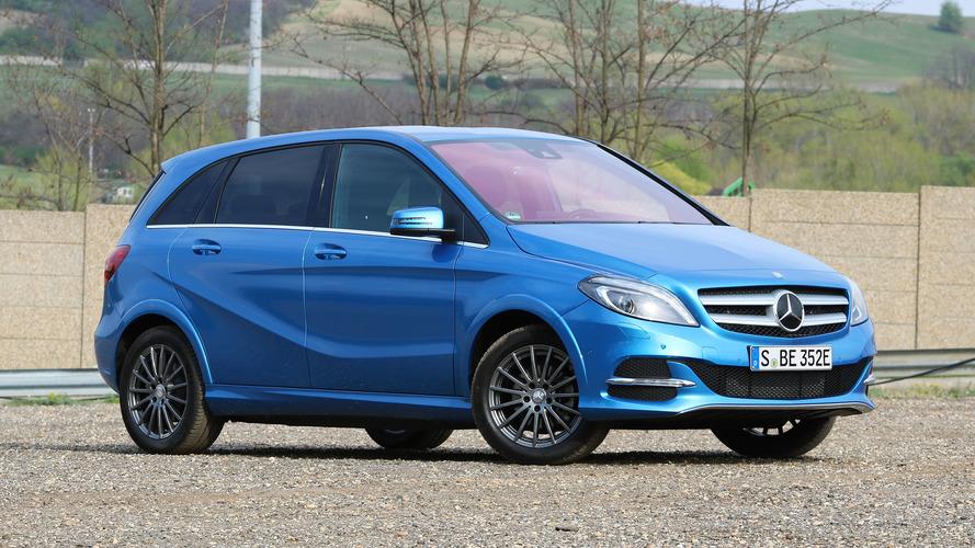 Mercedes, B-Serisi Electric Drive'ın fişini çekti