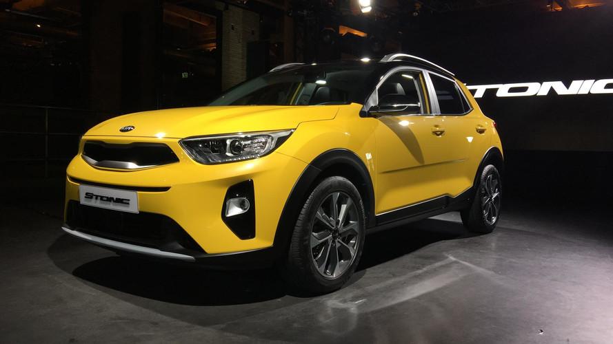 Kia'nın yeni crossover'ı 2018 Stonic tanıtıldı