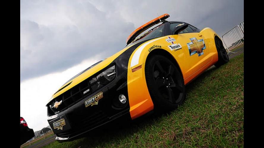 Chevrolet Sonic estreia oficialmente no Brasil... pela Stock Car -  Camaro vira Safety Car
