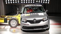 Renault Sandero - Teste de colisão do Latin NCAP