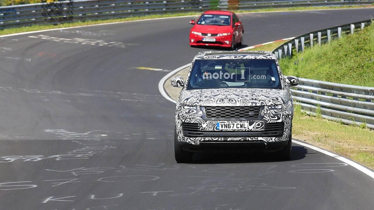 Range Rover SV Coupe'nin Nürburgring'teki Casus Fotoğrafları