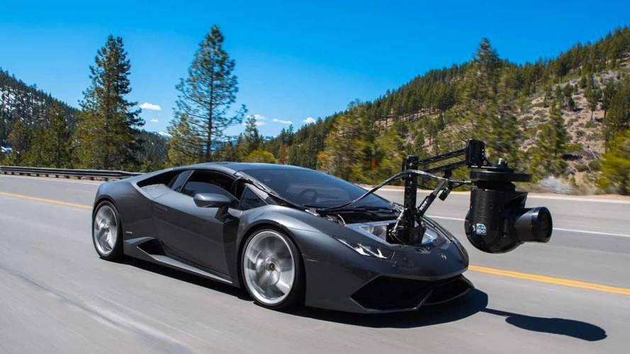 Akcióban a Lamborghini HuraCAM