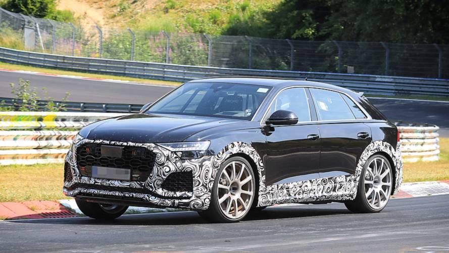 Audi RS Q8 als Erlkönig