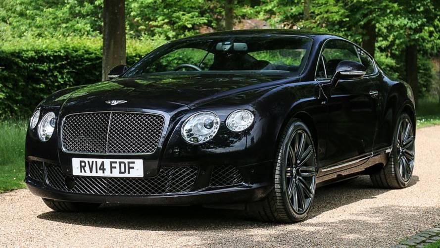 A subasta el Bentley Continental GT Speed de Elton John