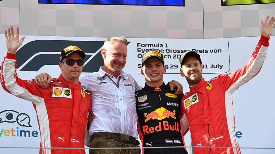 2018 F1 Avusturya GP: Olaylı yarışı Verstappen kazandı