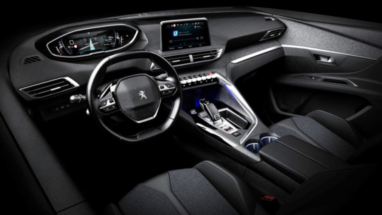 2017 Peugeot 3008 interior   Motor1.com Photos