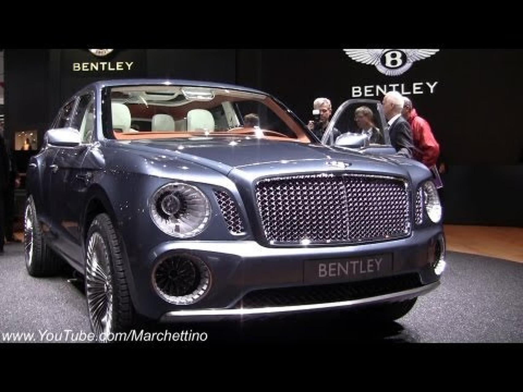 2013 Bentley EXP 9 F Concept SUV - 2012 Geneva Motor Show