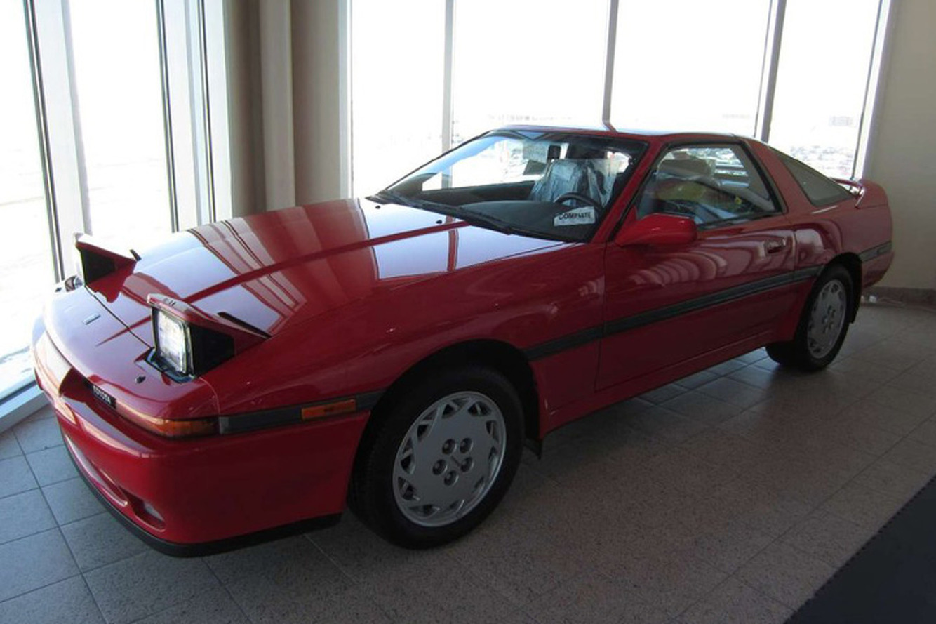 Totally Want: Brand New 1990 Toyota Supra For Sale