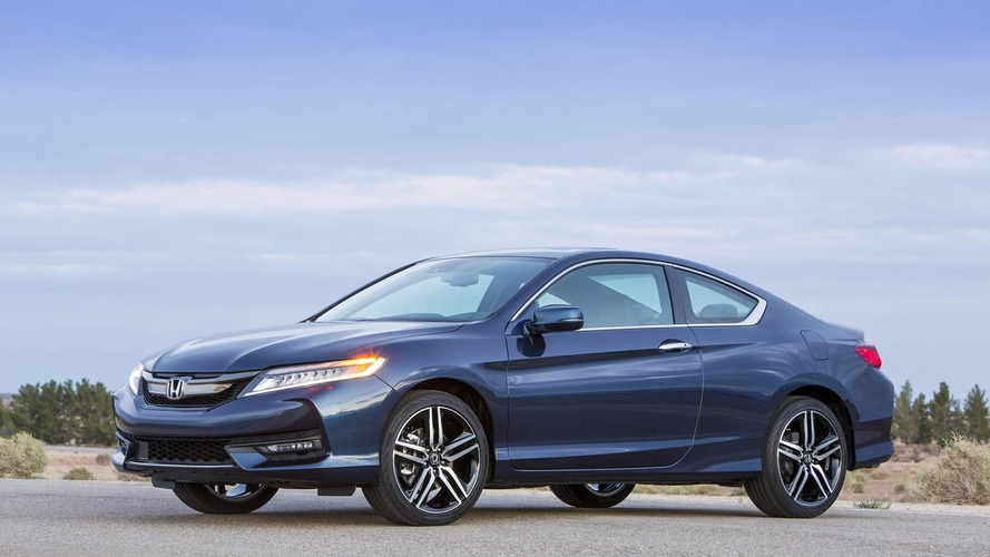 2016 Honda Accord Coupe facelift goes official with subtle cosmetic tweaks