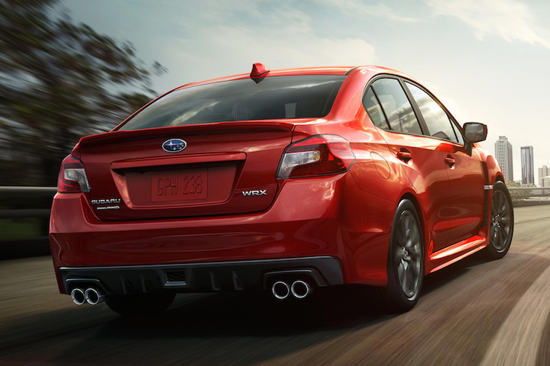 Subaru Building a WRX Hatchback After All?