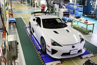 This is the Last Lexus LFA Ever Built