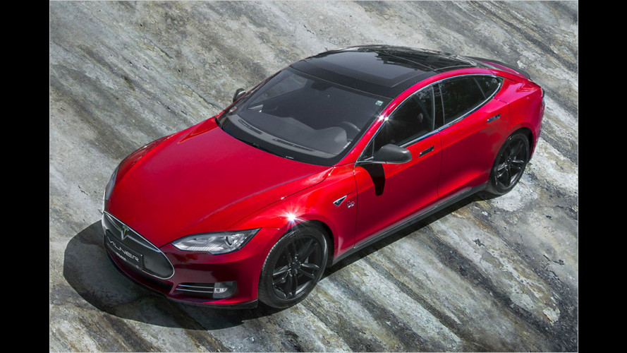 Edles Optiktuning für Tesla Model S