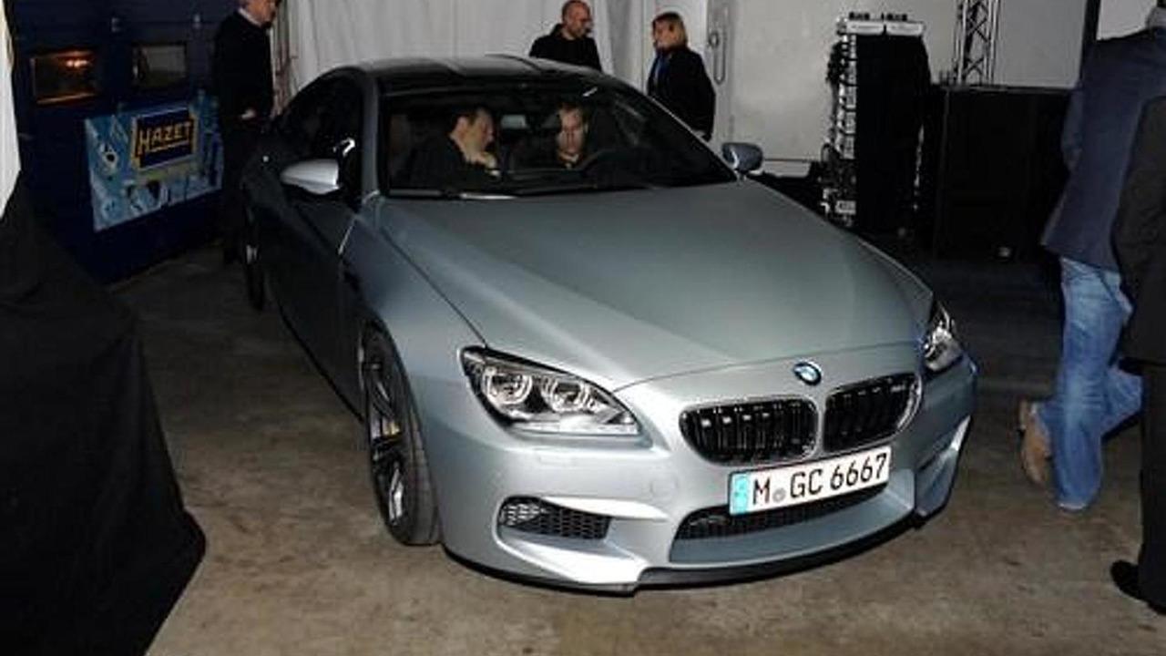 BMW M6 GranCoupe leaked photo 08.11.2012