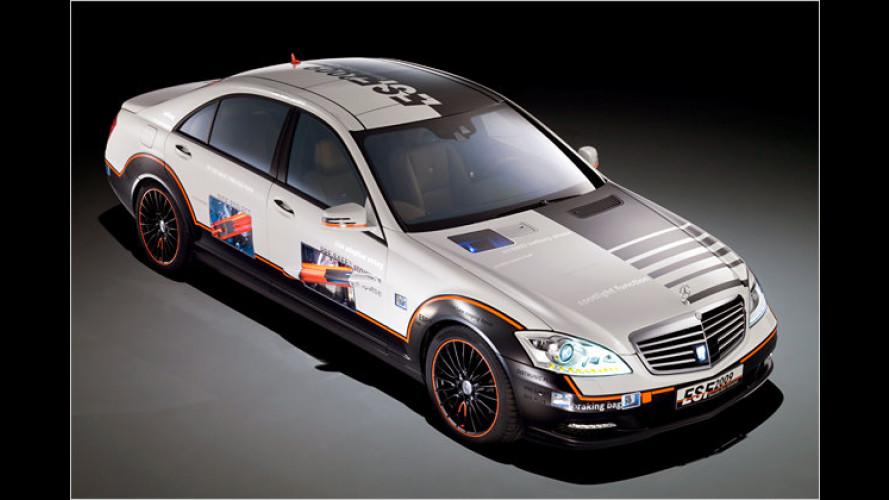 Geballte Sicherheit an Bord: Das ESF 2009 von Mercedes