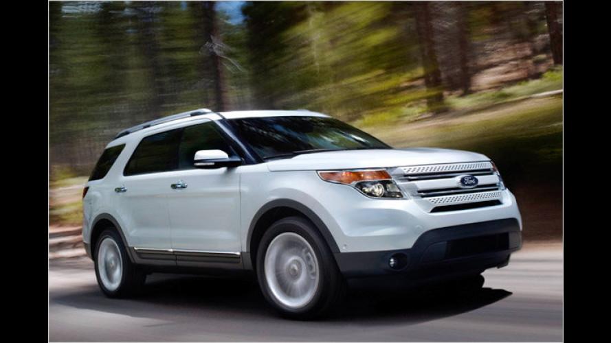 Ford Explorer: Die neue Generation sagt dem V8 Adieu