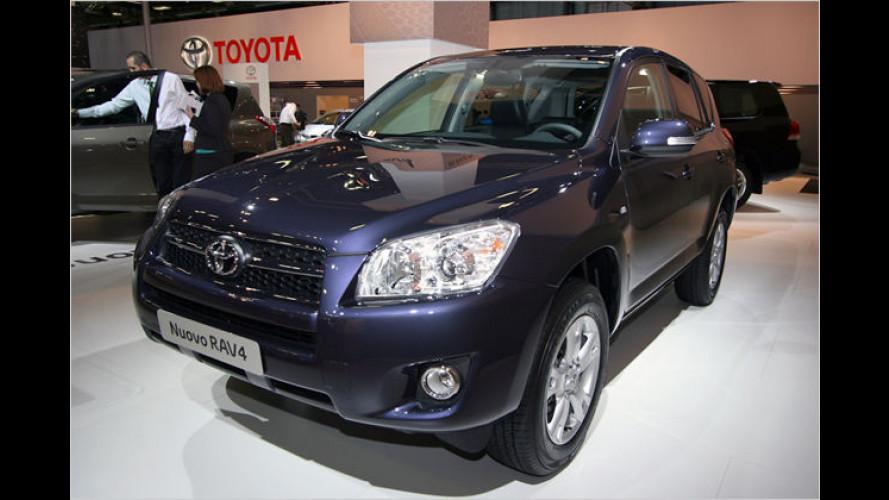 Sprung nach vorn: Toyota RAV4 nun auch als Fronttriebler