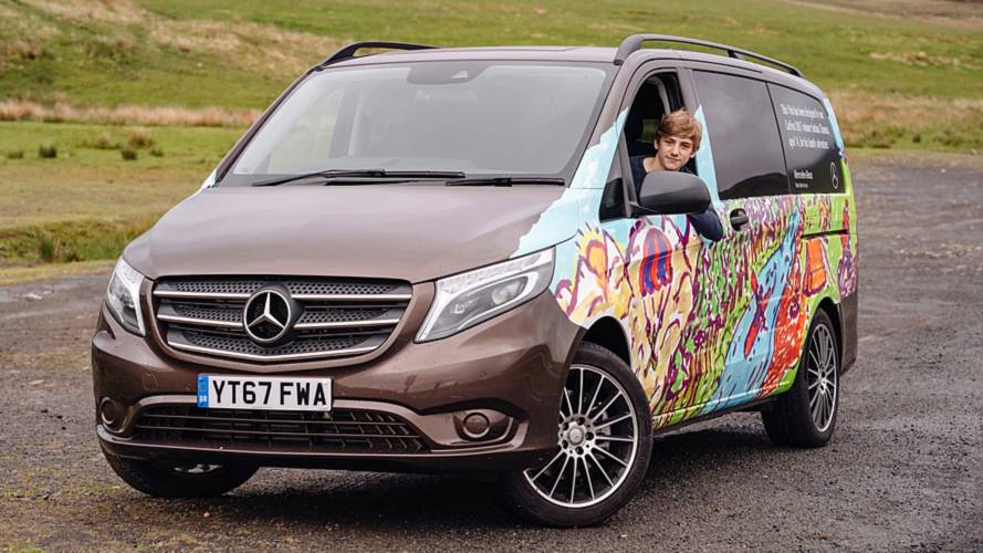 Teen Wins Competition And Sees His Mercedes Vito Come To Life