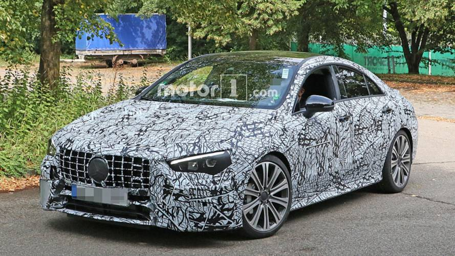 Mercedes-AMG CLA 45 most revealing spy shots yet