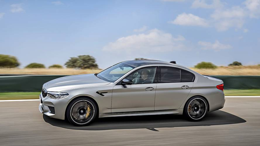 2018 BMW M5 Competition Test