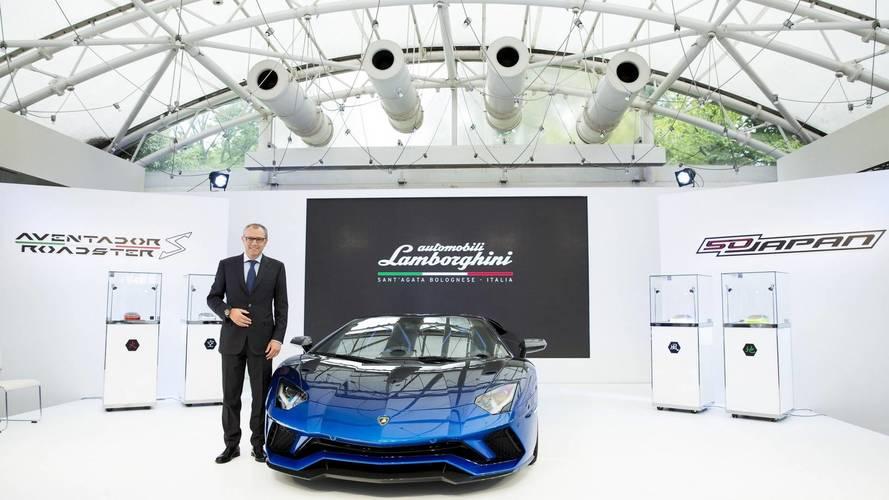 Lamborghini Aventador S Roadster 50th Aniversario