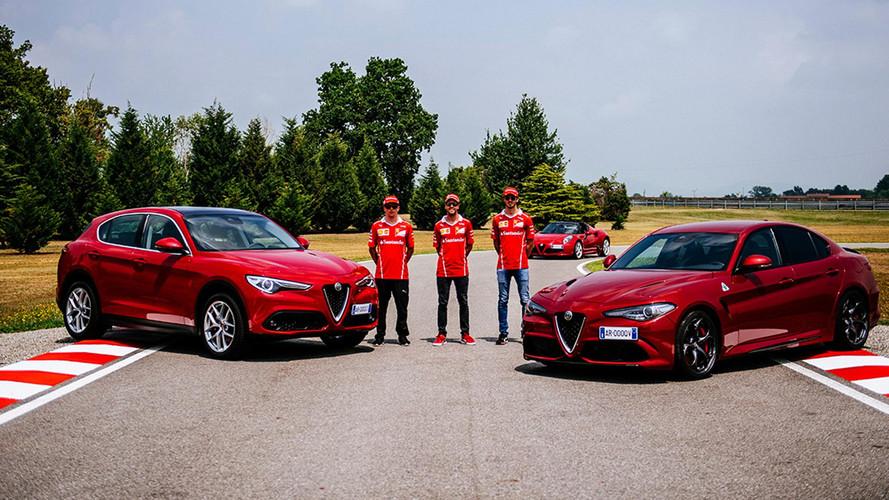 VIDÉO - Vettel et Räikkönen testent l'Alfa Romeo Giulia QV