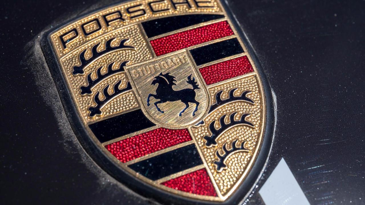 Le logo Porsche