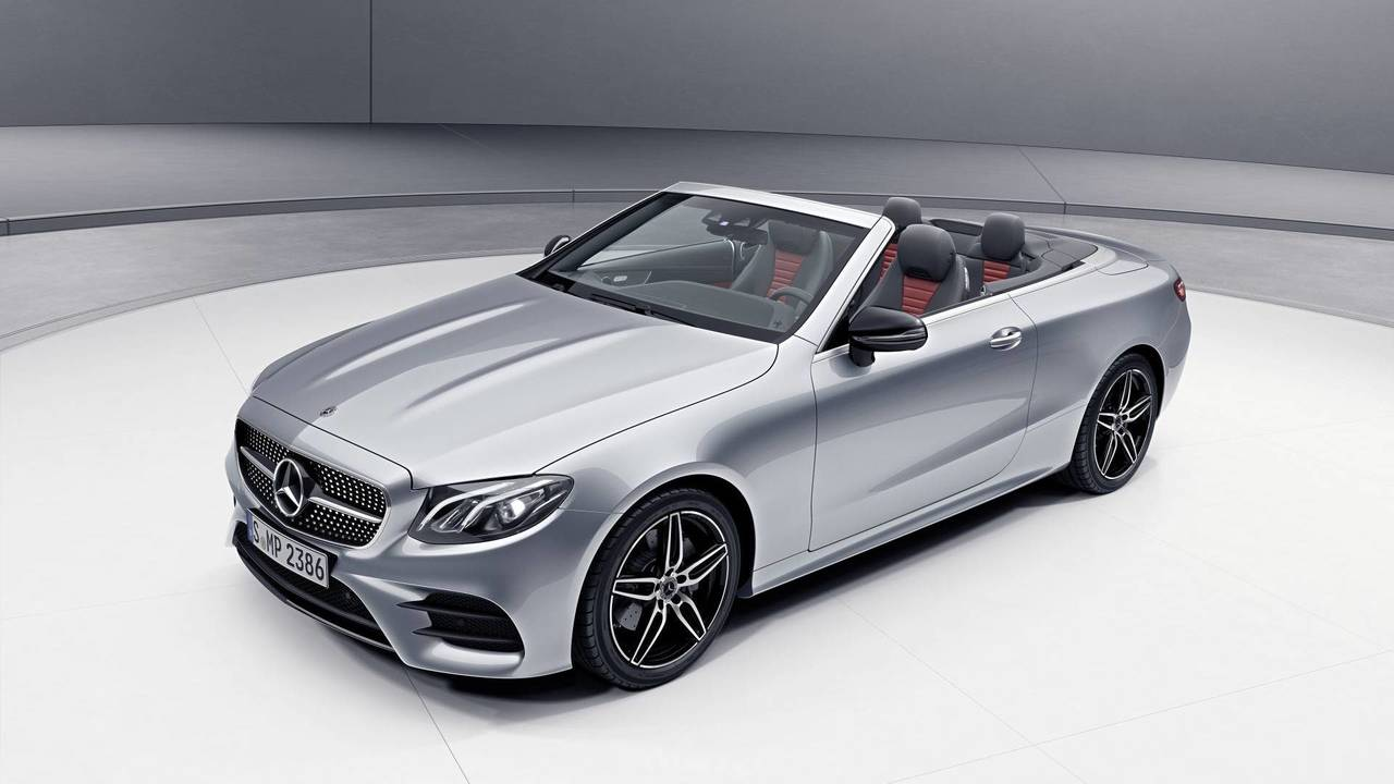 Mercedes-Benz E-Class Coupé and Cabriolet