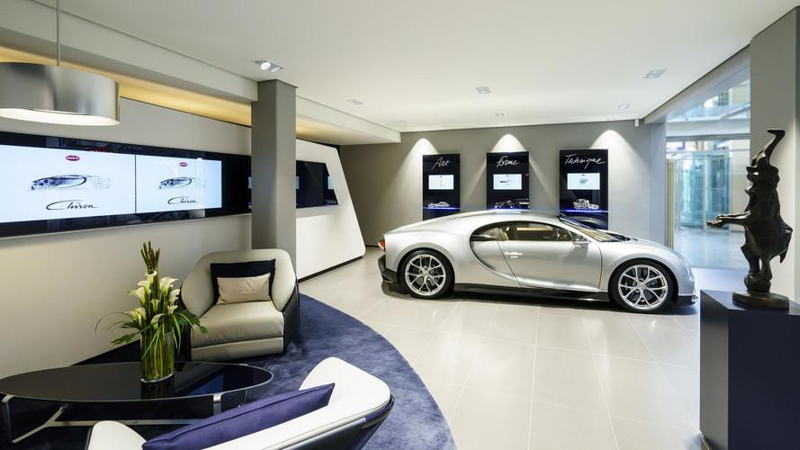 Bugatti inaugure un nouveau showroom à Hambourg
