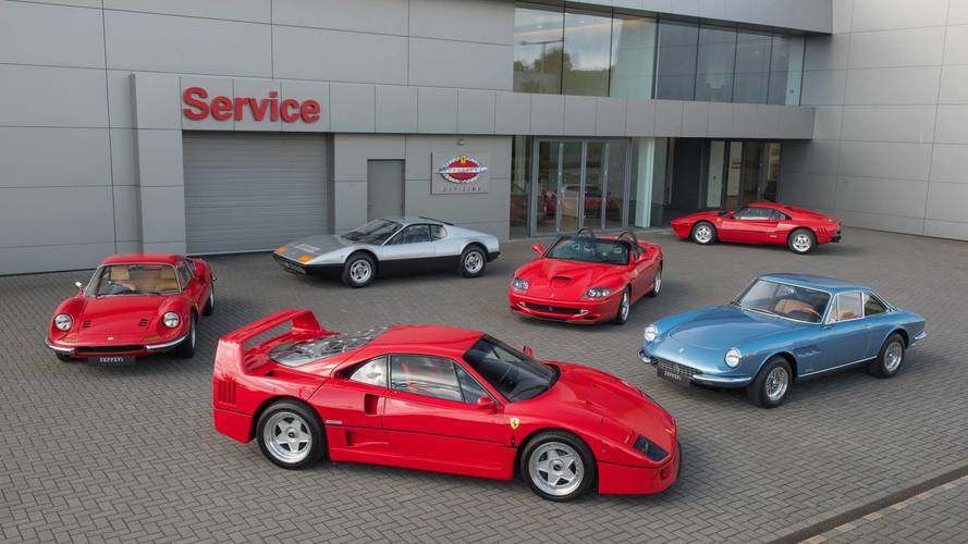 Ferrari Gives Official Seal Of Approval To Classic Workshops