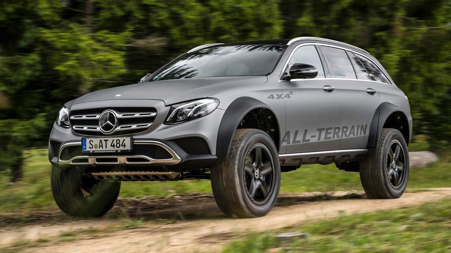 Mercedes Classe E All-Terrain 4x4² : le sens de la démesure