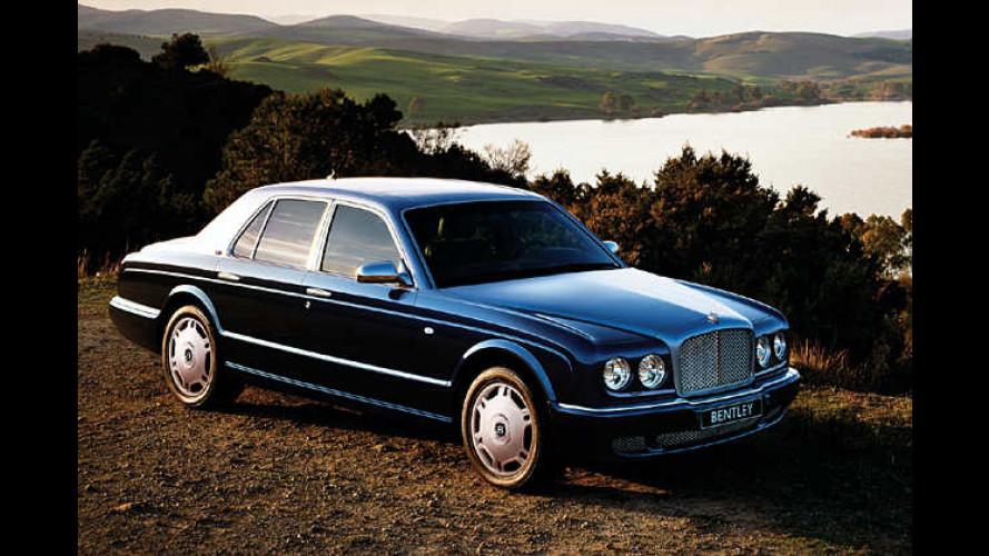 Aufgewertet und stärker gemacht: Bentley Arnage anno 2007