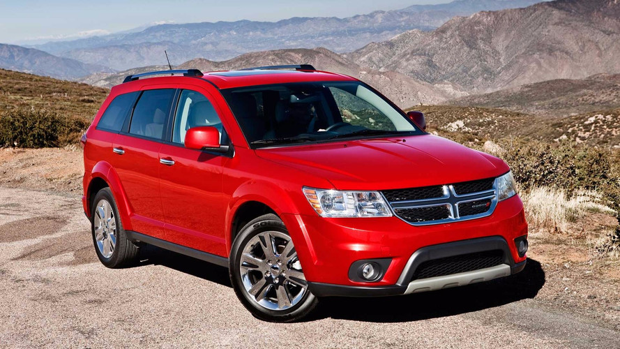 FCA Recalls 363k Dodge Journey Crossovers For Airbag Issues