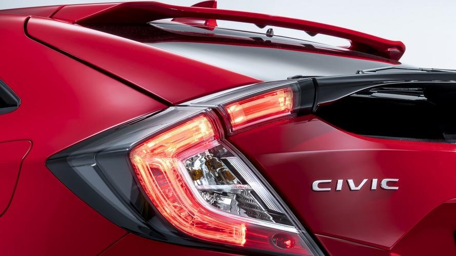 2017 Honda Civic Hatchback'in detayları ortaya çıkıyor