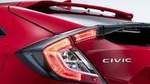 2017 Honda Civic Hatchback teaser