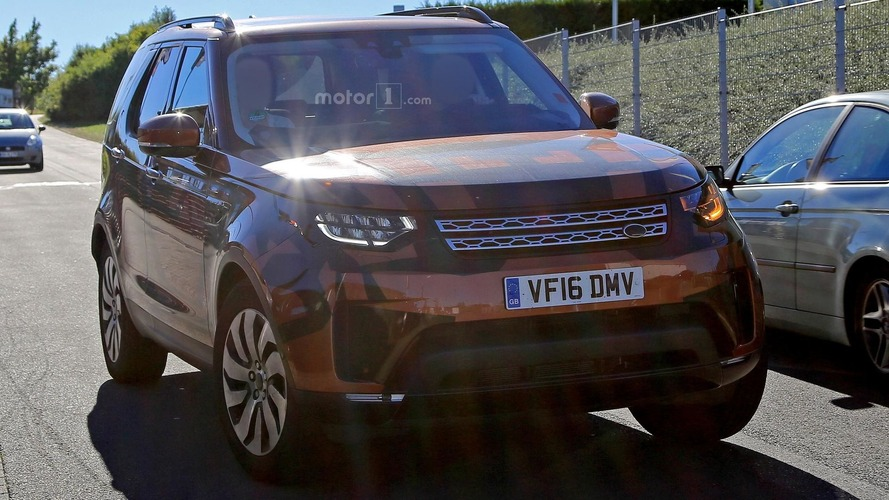 Land Rover Discovery 2017 - Spyshots sans camouflage