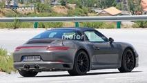 Porsche 911 GTS Targa facelift spy shots
