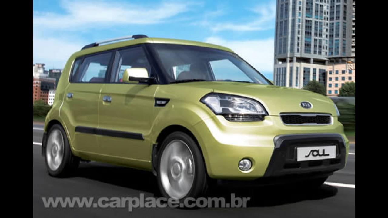 Kia Soul será produzido no Brasil a partir de 2010 - Nova fábrica será em Salto-SP
