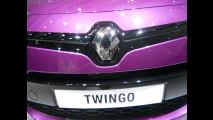 La Renault Twingo vista dal vivo