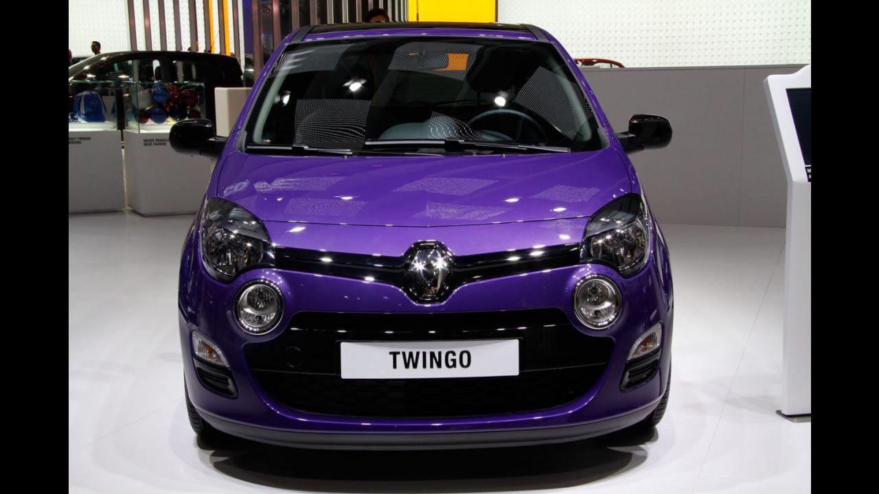 Renault Twingo restyling al Salone di Francoforte 2011